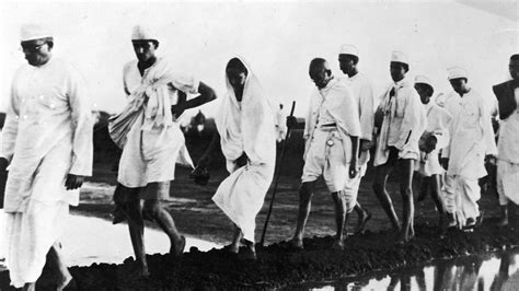 When Gandhi's Salt March Rattled British Colonial Rule