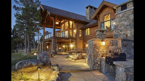 The Exquisite Lakeview Ranch in Helena, Montana - YouTube