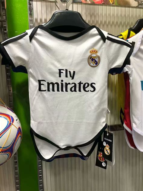 Real Madrid Baby Soccer Jersey Suit 2018-19 Home Infant