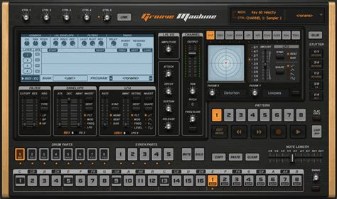Image-Line Groove Machine virtual Groove Box for PC and Mac